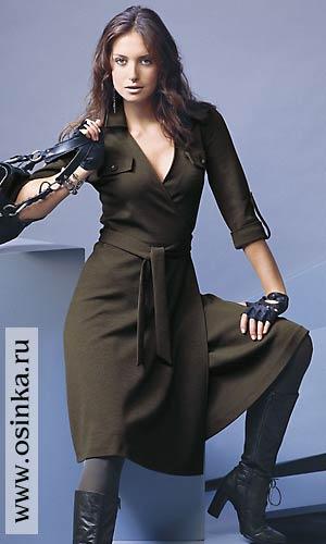 Рекомендуемые ткани: только трикотажные полотна.  Платье 34-40.