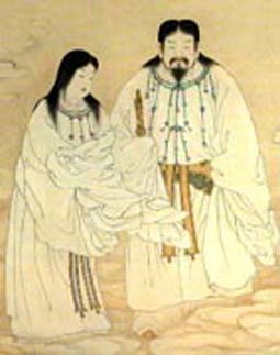 creation myth compare and contrast Comparing chinese and hebrew creation and flood myths virtually all cultures have their own creation myths, and many cultures also have legends of a great.