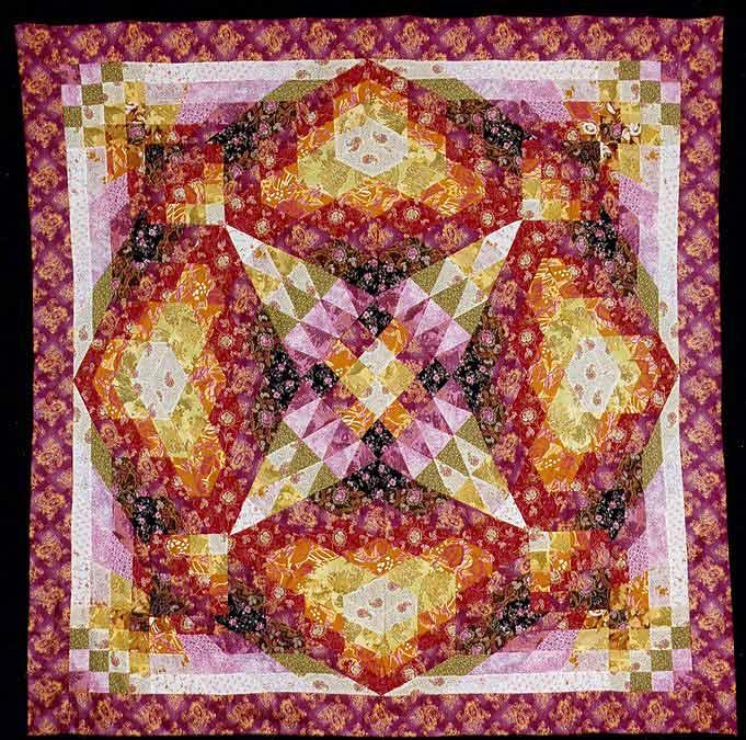 Кроме того, современное лоскутное шитье стало видом искусства.