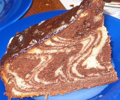 Бисквитное торт с фруктами как самой