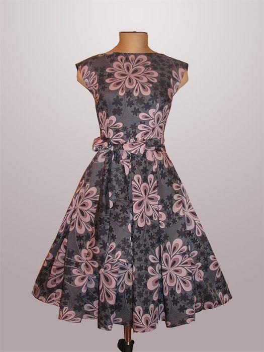 Выкройки платья в стиле стиляг и