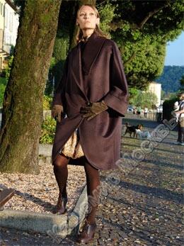 Описание: пальто с 171 шокол пончо модель пальто с.