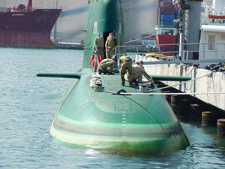 сколько подводных лодок есть у израиля