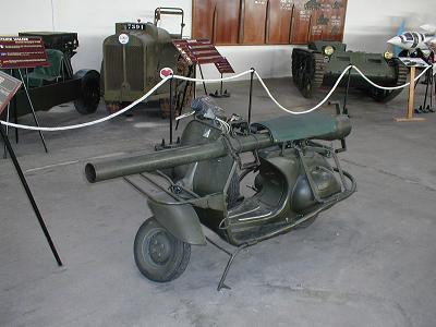 Мотороллер Vespa (Италия)