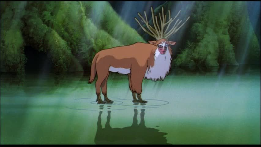 the different transformations in princes mononoke a film by hayao miyazaki