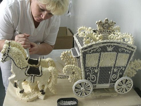 необычные торты - сувениры, изготовление с фото