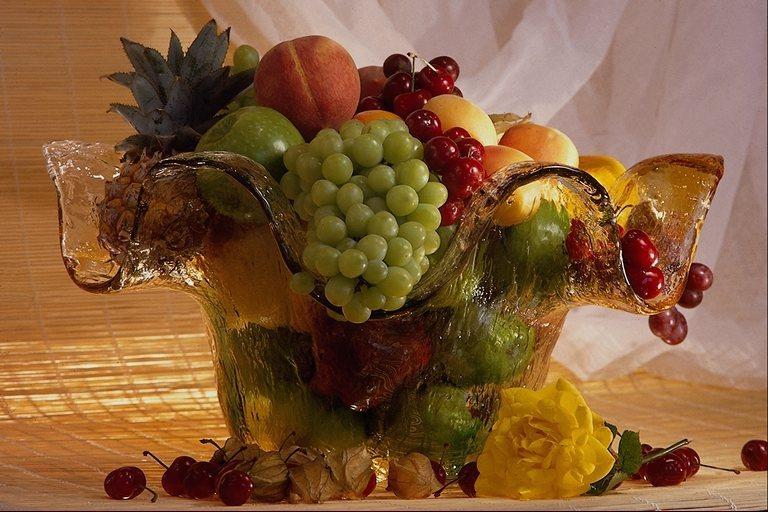 Настроения картинки, фруктовая открытка с днем рождения